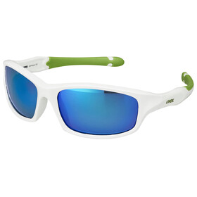 UVEX sportstyle 507 Kids Glasses white green